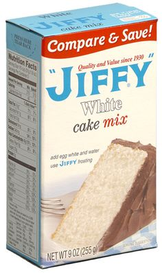 1960s Jiffy mix. I used lots of these  for my little Easy Bake oven! No cake was as good as those!!