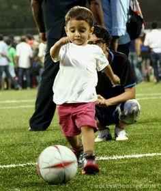 AzAamir Khan's little son Azad on the football field - View pics!  #AamirKhan #AamirKhanson #Azad #KiranRao #AzaadKhan