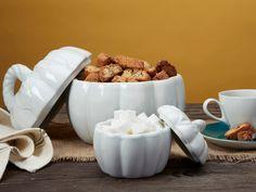 Ceramic Pumpkins with lids