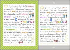 Joy Manifesto shared by Simply Fresh Designs & theJOYteam.org