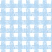 Small Painted Gingham (Blue Skies) by leighr, click to purchase fabric