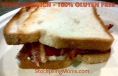 BTM - Bacon, Tomato and Mayonnaise Sandwich #Recipe #GlutenFree http://www.stockpilingmoms.com/2012/07/btm-bacon-tomato-and-mayonnaise-sandwich/