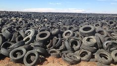 Excellent news! America's tire mountains: 90 percent are gone, thanks to recycling programs | MNN - Mother Nature Network #recycling