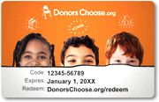 Donating to a classroom in need via DonorsChoose is a great way to honor your teacher.