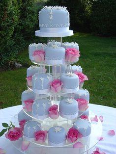 Blue cakes