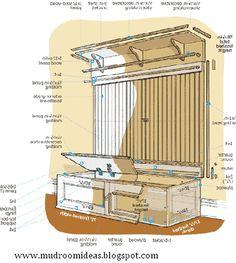 Mudroom Ideas,Mudroom Design: How to Build a Mudroom Bench