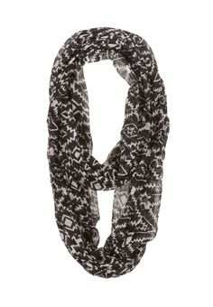 Contrast tribal Print Scarf - maurices.com