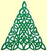 Celtic inspired Christmas Tree