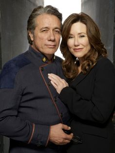 BSG - Adama & Roslin... you'd better believe I bawled my eyes out at that ending.