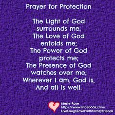 Prayer for protection <3