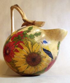 Large gourd pitcher (k. Barbieri)