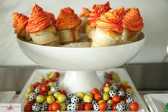 Torch Cupcakes (made in ice cream cones)