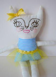 Cat Soft Toy - Bella