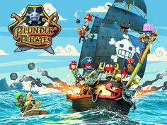 Plunder Pirates App by Rovio Stars