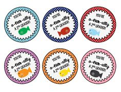 End of Year Treat Tags FREEBIE  K-5