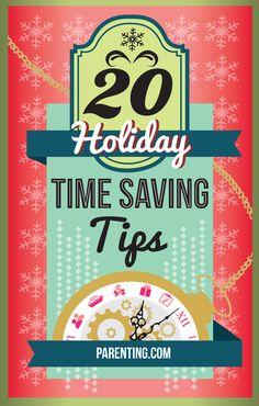 20 Holiday Time Saving Tips   Parenting.com