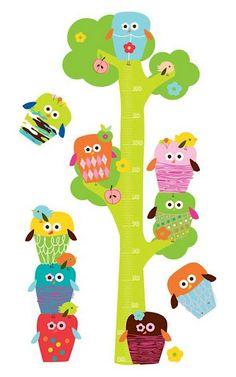 Laminas de animales para imprimir - Imagenes y dibujos para imprimirTodo en imagenes y dibujos creativ owl, charts, imagen, kid idea, chouett, muurstick van, height chart, buho, owls