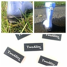 Look what arrived....Our #TwoAlity boot tags!!! What an awesome #birthday surprise!!!  These tags will come on every pair of #BootsByTwoAlity manufactured from here on out!!! #ClearBoots #MadeintheUSA www.thetwoalitystore.com