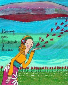 Gratitude quote via Carol's Country Sunshine on Facebook