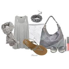 ~Beautiful Day Out~, created by mels777 on Polyvore