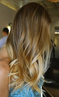 { the perfect summer waves + summer ombre }