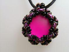 Catrina jewels: O Luna Lace Pendant ( designer Akke Jonkhof)