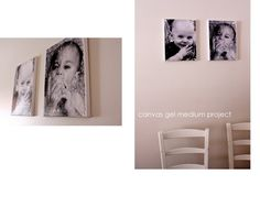 Distressed Picture Canvases