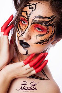 MATILDA #artistic #makeup #love #creative