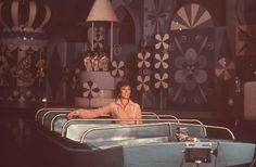 Julie Andrews enjoying It's a Small World #Disney #vintage #MaryPoppins