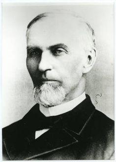 Portrait of Reverend John Russell Herrick, second President of Pacific University. He served as President from 1879-1883.