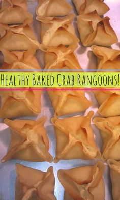 Healthy Baked Crab Rangoons!
