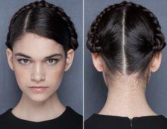 Verão 2013: inspire-se nos penteados do Fashion Rio! - SOS Cabelos - CAPRICHO