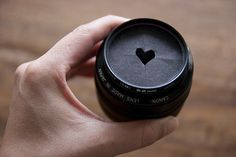 Create your own Heart-Shaped Bokeh #photography