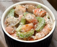 Shrimp Salad #shrimp #ShrimpSalad #seafood