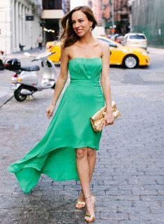 bold green for wedding season