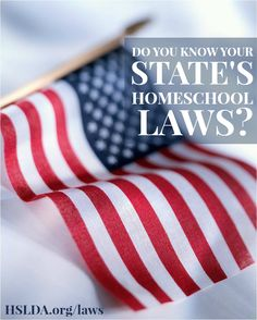 Do you know your state's homeschool laws? If not, be sure to check out this resource! HSLDA is here to help! | HSLDA