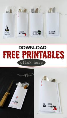 Creative Ideas for Halloween | Free Printables | Halloween Ideas | TodaysCreativeBlog.net
