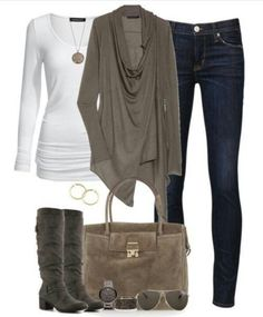 Casual shopping or spend the day with friends outfit!