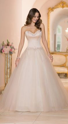 Designer Ball Gown Wedding Dress