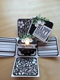 birthday cake candle and matching box