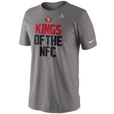 Nike San Francisco 49ers 2012 NFC Champions Kings of the NFC T-Shirt