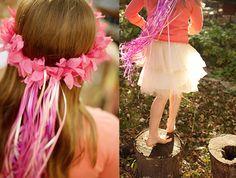 love the hair wreaths