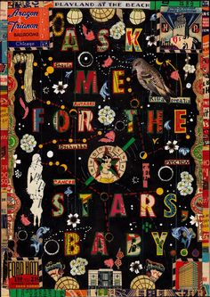 ask me for the stars   by Tony Fitzpatrick