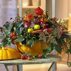 35 Awesome Thanksgiving Centerpieces