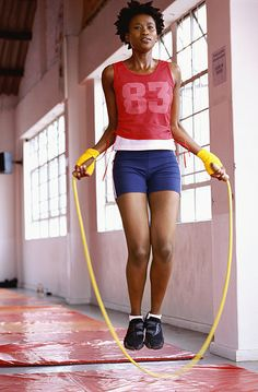 Jump rope workouts that burn calories and shed pounds!!