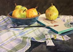 Watercolors by Barb Scheihing