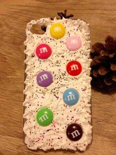 M & M  phone case