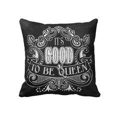 chalkboards, chalkboard style, queen royal, queens, mojo pillow