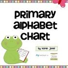 Alphabet Chart FREEBIE!