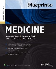 Blueprints Medicine (Blueprints Series) by Vincent B. Young MD  PhD just purchased on demand.